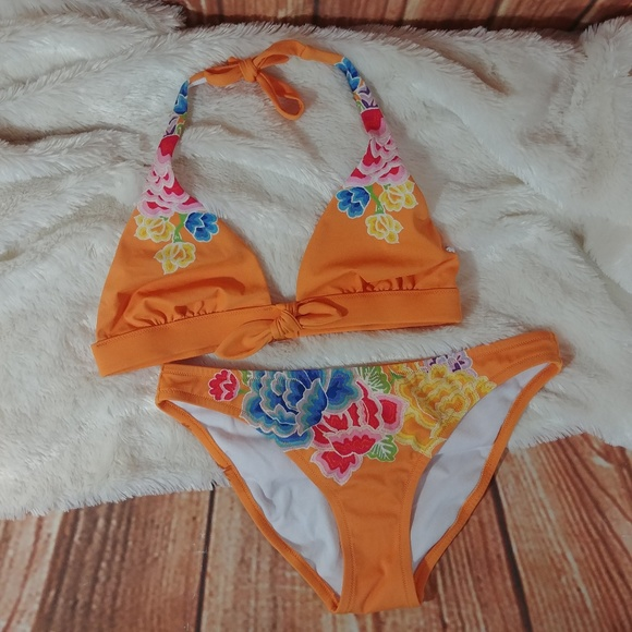 Victoria's Secret Other - Victoria's Secret Orange Two Piece Swimsuit